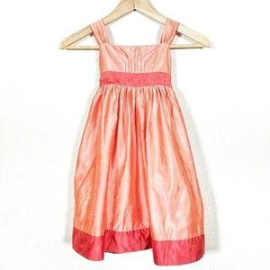 JENNY YOO 100% Silk Dress Girls 4 Special Occasion
